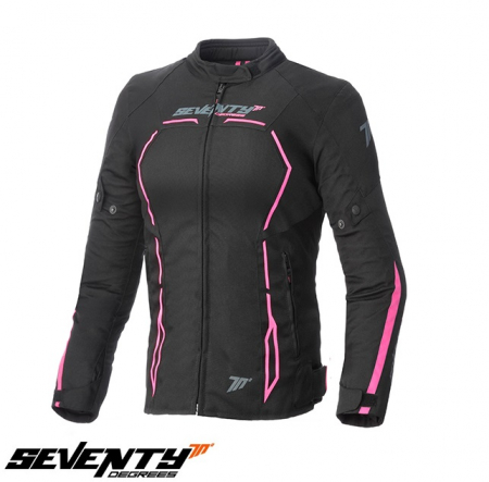 Geaca (jacheta) vara/iarna femei Racing Seventy model SD-JR67 culoare: negru/roz [0]