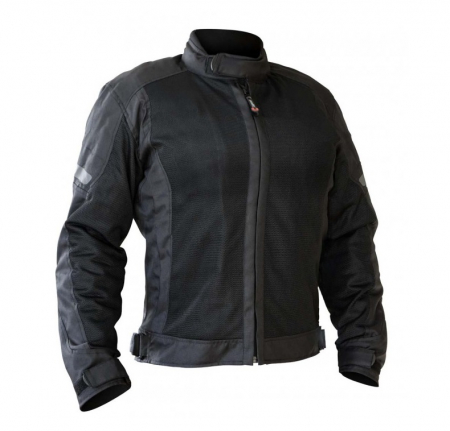 Geaca (jacheta) motociclete femei Touring model Unik Racing VZ-06 culoare: negru [0]