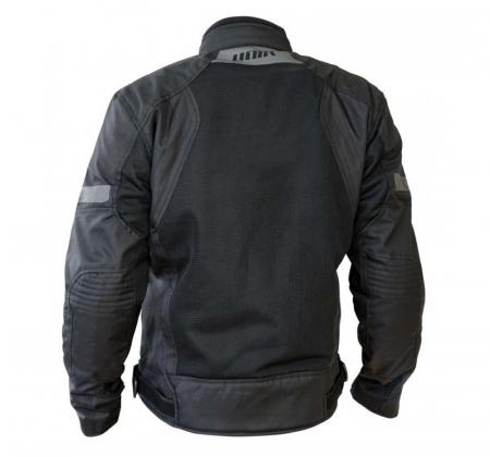 Geaca (jacheta) motociclete barbati model Touring Unik Racing VZ-06 culoare: negru [1]