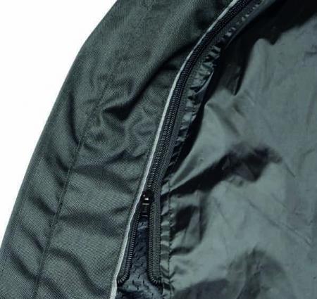 Geaca (jacheta) motociclete barbati model Touring Unik Racing VZ-06 culoare: negru [2]