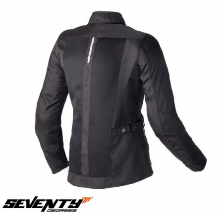 Geaca (jacheta) de vara motociclete femei model Urban Seventy SD-JC34 culoare: negru [1]