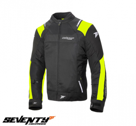 Geaca (jacheta) de vara barbati model Racing Seventy SD-JR52 culoare: negru/galben fluor [0]