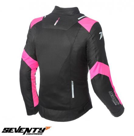 Geaca de vara (jacheta) femei model Racing Seventy SD-JR54 culoare: negru/roz [1]