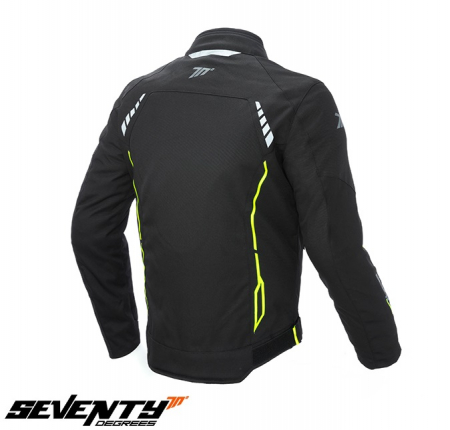 Geaca (jacheta) barbati negru/galben fluor model Racing Seventy model SD-JR65 vara/iarna [1]