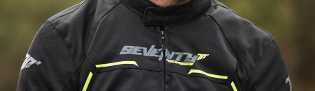 Geaca (jacheta) barbati negru/galben fluor model Racing Seventy model SD-JR65 vara/iarna [2]