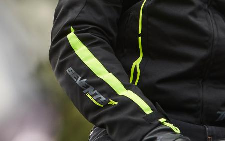 Geaca (jacheta) barbati negru/galben fluor model Racing Seventy model SD-JR65 vara/iarna [3]