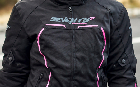 Geaca (jacheta) vara/iarna femei Racing Seventy model SD-JR67 culoare: negru/roz [3]