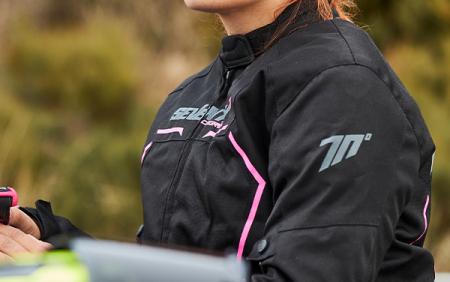 Geaca (jacheta) vara/iarna femei Racing Seventy model SD-JR67 culoare: negru/roz [4]