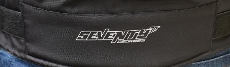 Geaca motocicleta barbati model Racing Seventy SD-JR69 culoare: negru/gri [2]