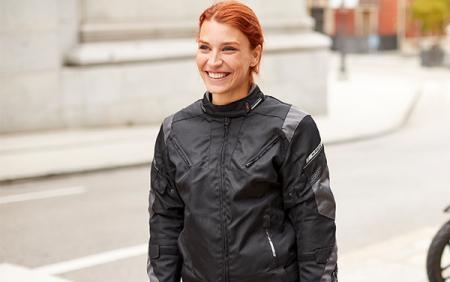 Geaca (jacheta) femei vara/iarna Racing Seventy SD-JR71 culoare: negru/gri [4]