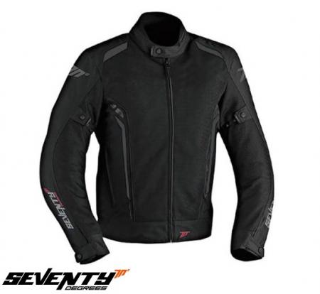 Geaca (jacheta) motociclete barbati model Touring Seventy SD-JT32 culoare: negru/gri [0]