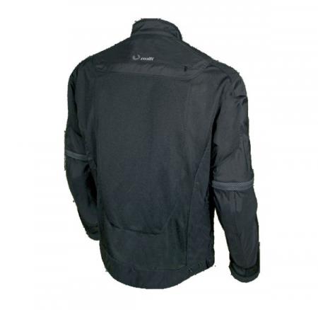 Jacheta motociclete barbati model Unik Racing VZ-04 culoare: negru [3]