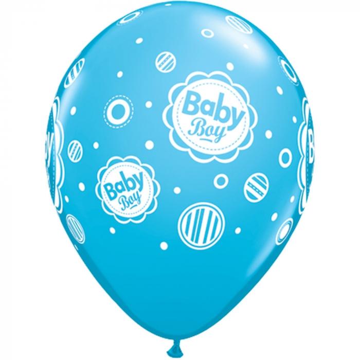 Baloane latex baby boy asortate DB18506 4