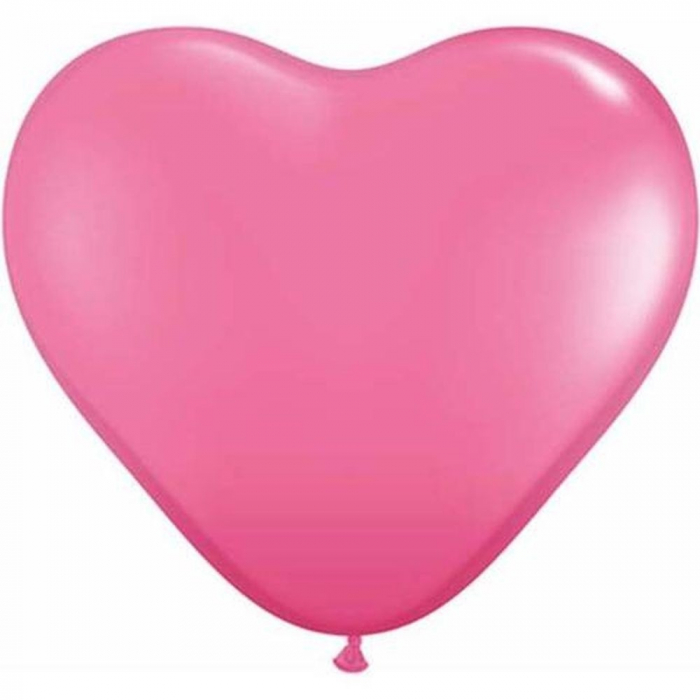Baloane Latex Heart Rose 26 cm DB43731 0