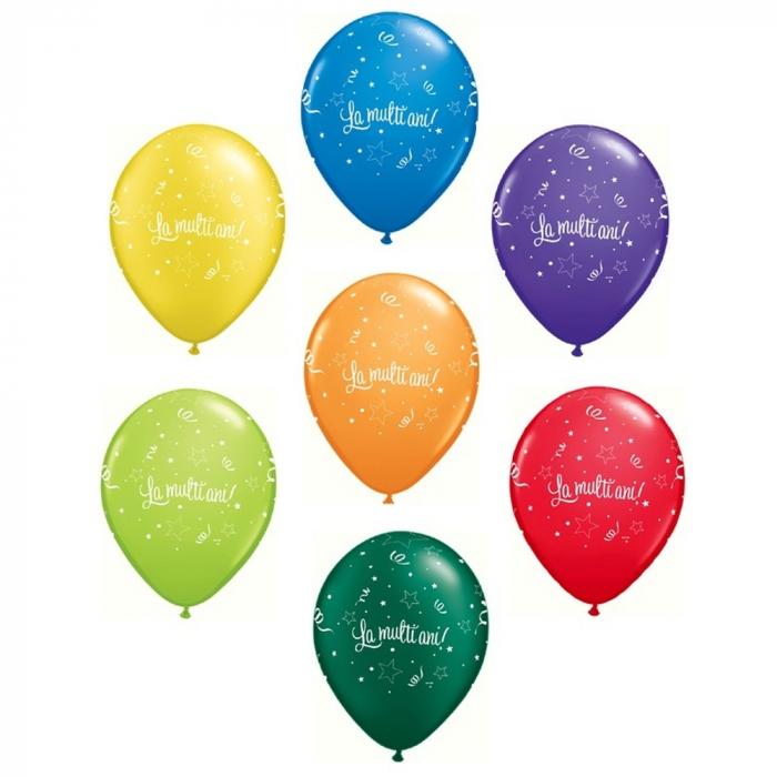 """Baloane latex """"La multi ani"""" Carnival 28cm,  DB27078.Carnaval [0]"""