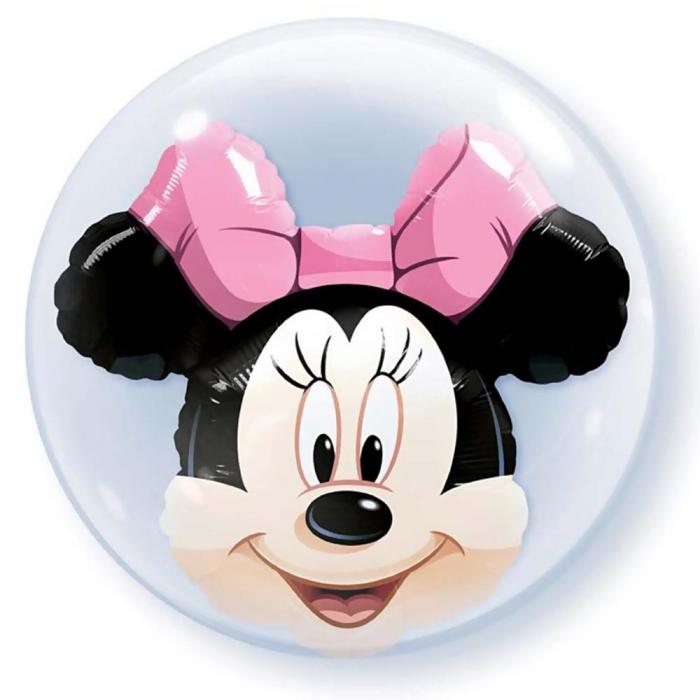 Balon double bubble Minnie Mouse 61cm DB27568 0