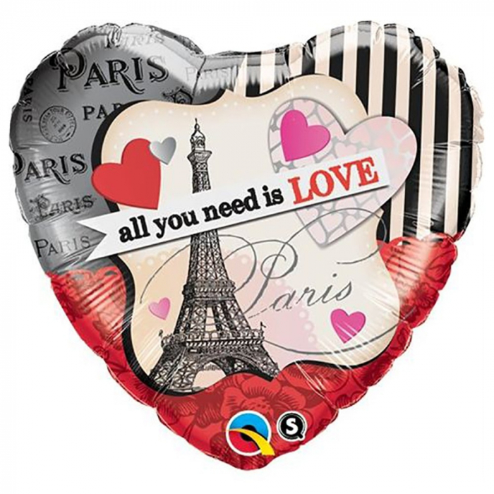 Balon Folie 45 cm Inima All You Need Is Love DB65096 0
