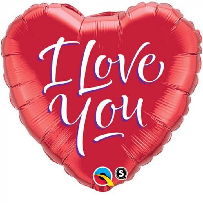 Balon Folie 45 cm Inima - I Love You DB29133 0