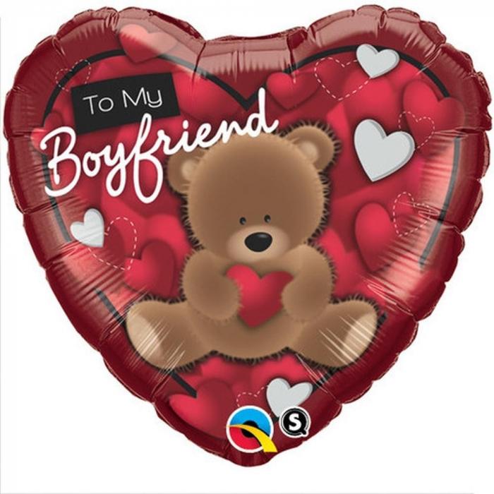 Balon Folie 45 cm Inima To My Boyfriend DB41320 [0]