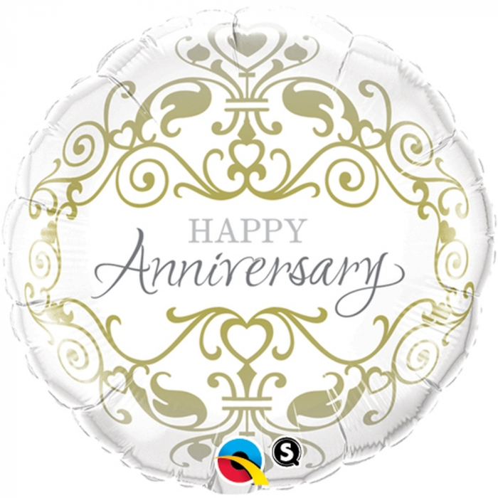 Balon Folie 45cm Happy Anniversary  DB36491 0