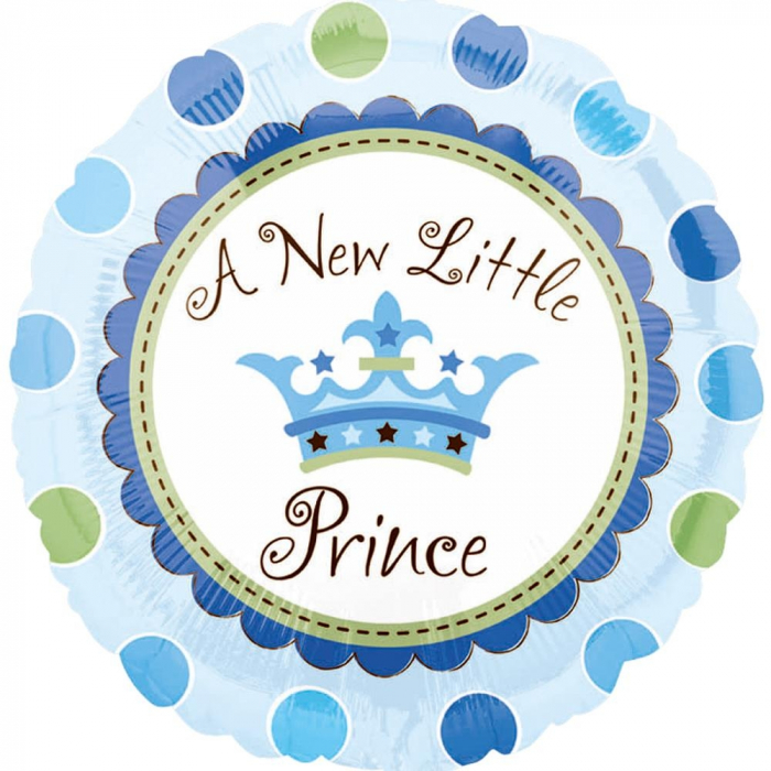 Balon Folie A New Little Prince 45 cm 1 buc DB119458 0