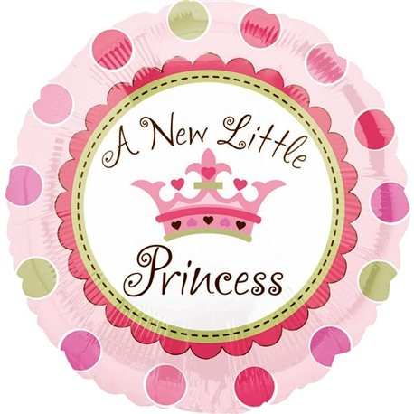 Balon Folie A New Little Princess 45 cm 1 buc DB119457 0