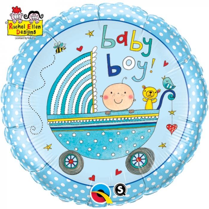 Balon Folie Baby Boy 45 cm 1 buc DB50253 0
