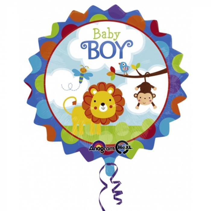 Balon Folie Baby Boy Safari 45 cm 1 buc DB2684501 0