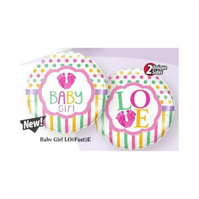 Balon Folie Baby Girl 45 cm 1 buc DB25746 0