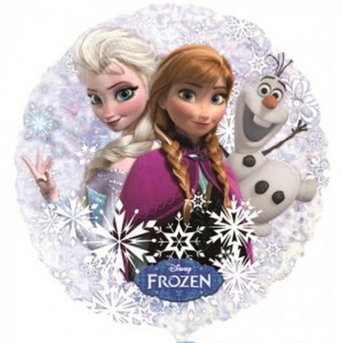 Balon Folie Disney Frozen Anna Elsa Olaf 55 cm 1 buc DB30200 0