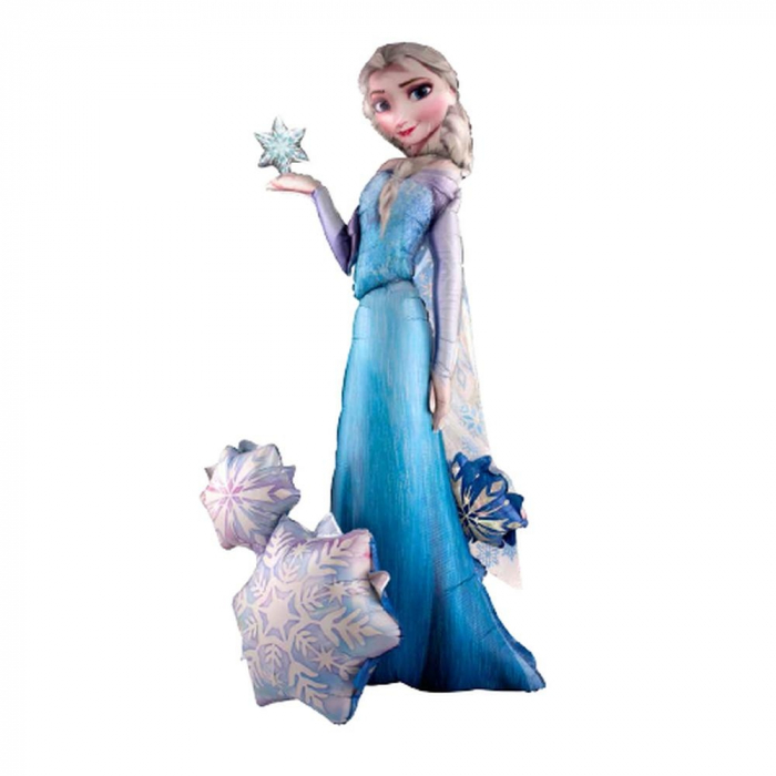 Balon Folie Figurina Airwalker Frozen Elsa 144 cm 1 buc DB110087 0
