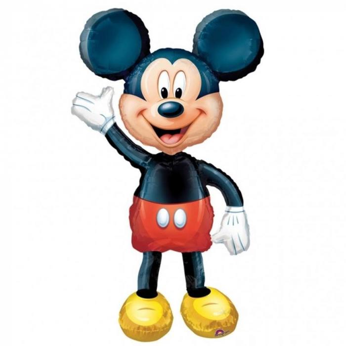 Balon Folie Figurina Airwalker Mickey Mouse Disney 132 cm 1 buc DB08318 0