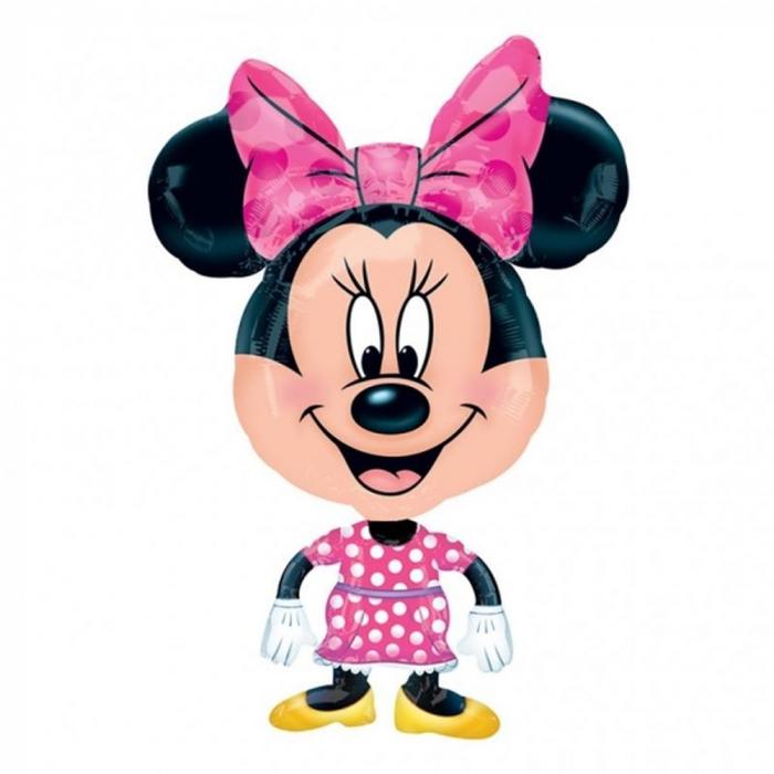 Balon Folie Figurina Airwalker Minnie 55x78 cm 1 buc DB26370 0