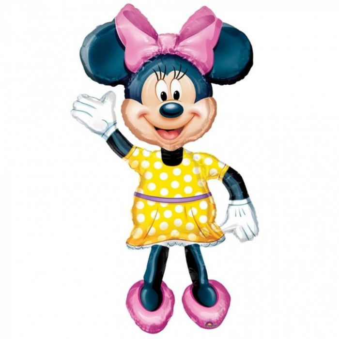 Balon Folie Figurina Airwalker Minnie Mouse Disney 132 cm 1 buc DB08319 0