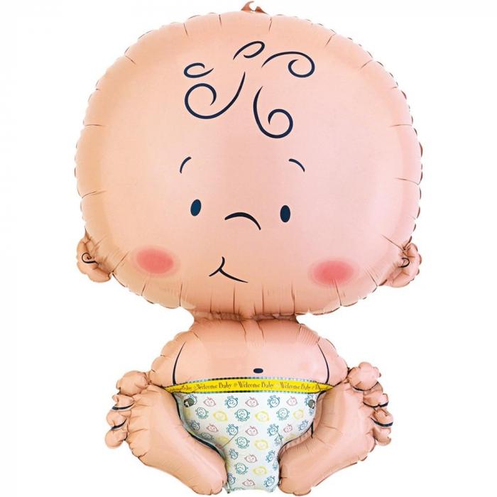Balon Folie Figurina Bebelus 41x61 cm 1 buc DB65408 [0]