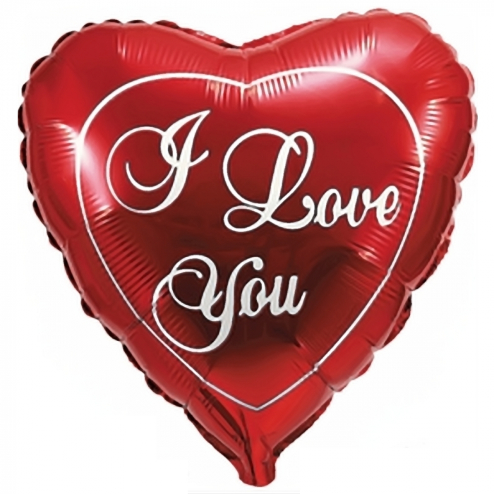 Balon Folie Figurina Inima I Love You 80 cm DB206506 0