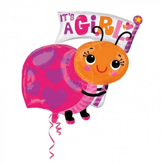 Balon Folie Figurina It`s A Girl 63x81 cm 1 buc DB33659 [0]