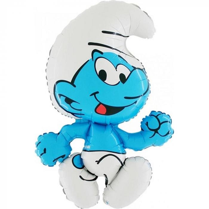 Balon folie figurina Strumf 112cm DB27554 [0]