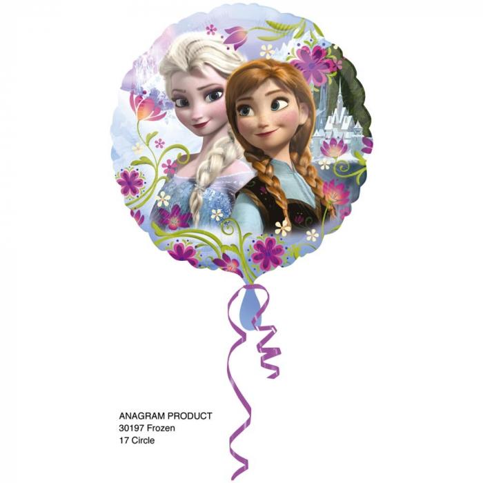 Balon Folie Frozen Anna Elsa 45 cm 1 buc DB30197 [0]