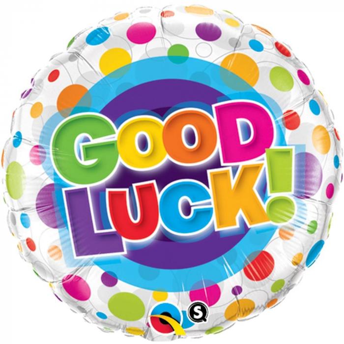 Balon Folie Good Luck 45 cm 1 buc DB36387 0