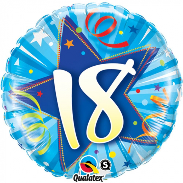 Balon Folie Happy Birthday 18 45 cm 1 buc DB25242 0