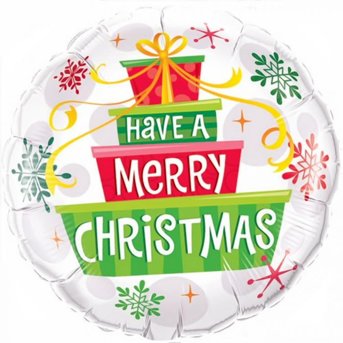 Balon Folie Have A Merry Christmas 45 cm 1 buc DB55085 0
