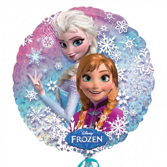 Balon Folie Holografic Frozen 55 cm 1 buc DB27552 0