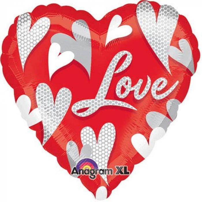 Balon folie inima Love - 80cm DB20851 0