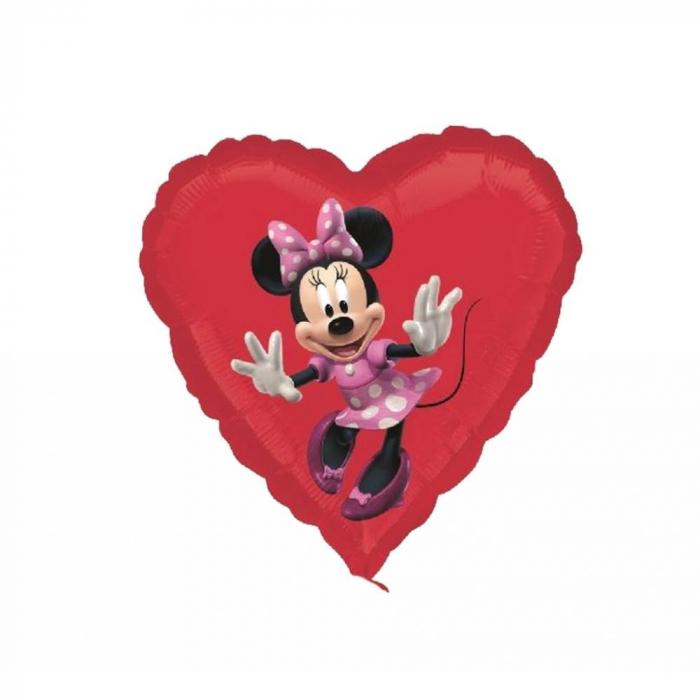 Balon folie inima Minnie 45cm DB22944 0
