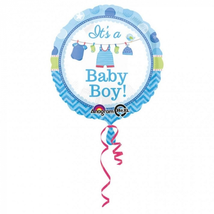 Balon Folie It`s a Baby Boy 45 cm 1 buc DB30910 0