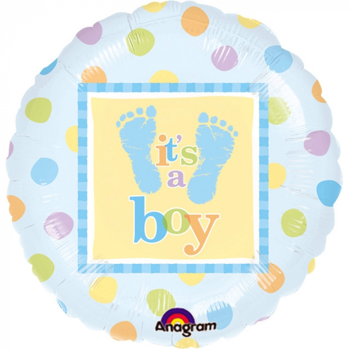 Balon Folie It`s A Boy 45 cm 1 buc DB111056-01 12