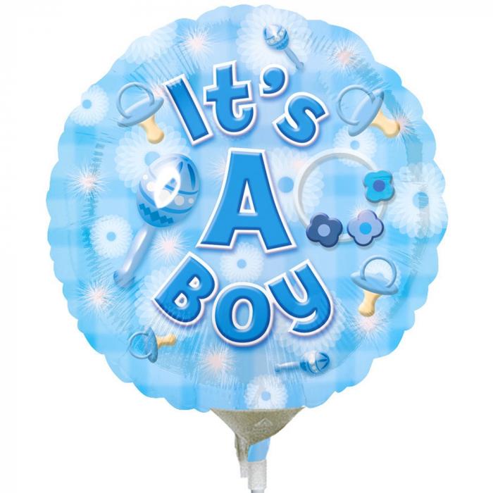 Balon Folie It`s A Boy 45 cm 1 buc DB2591701 0