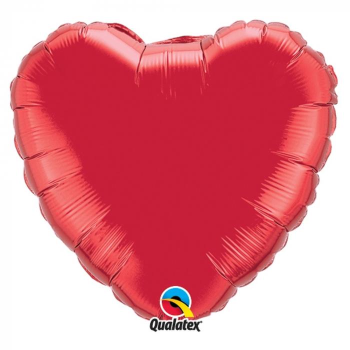 Balon folie metalizat inima ruby red 91cm DB12657 0