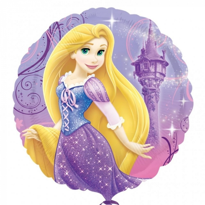 Balon Folie Rapunzel 45 cm 1 buc DB26407 [0]